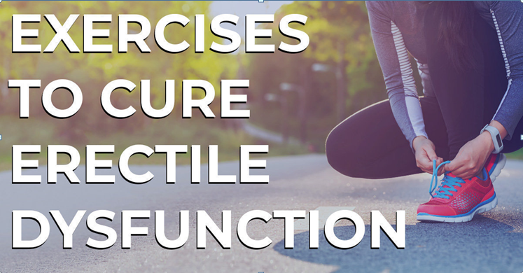 How does exercising help to treat erectile dysfunction?