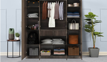 4-door Wardrobes Open A World Of Options - Check Them Out